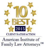 Logo of American Institute of Family Law Attorneys 2015