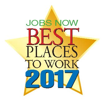 Logo for Jobs Now Best Places to Work 2017