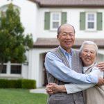 happy smiling elderly